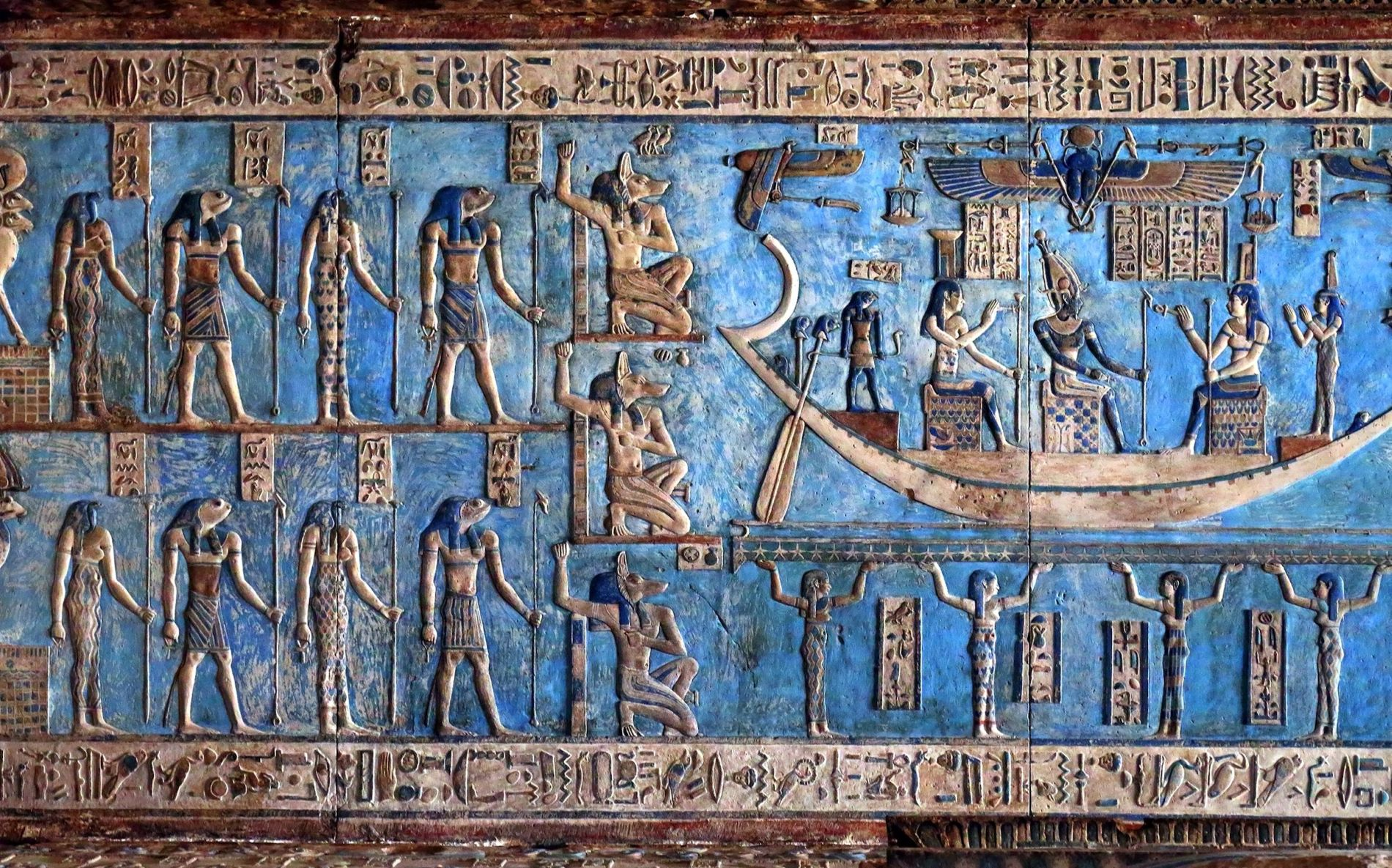 the significance of ancient egyptian art What's the first thing that comes to mind when you think of ancient egypt for most people, it's the great pyramid and the sphinx of giza ancient egyptian architecture displays some of the most impressive and exquisite works of art in history.