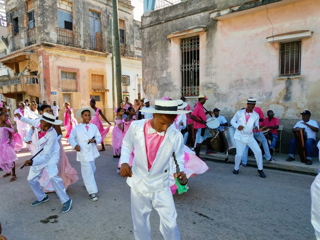 Afrocuban performance Matanzas